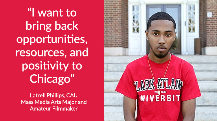 "Clark Atlanta Senior Plans to Use Degree to Rid Hometown of ""Chi-Raq"" Image"
