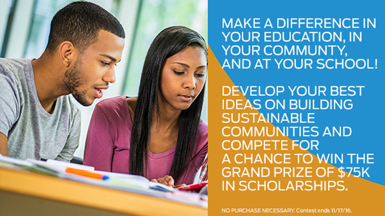 Ford HBCU Community Challenge: Win Up to $75,000 in Scholarships