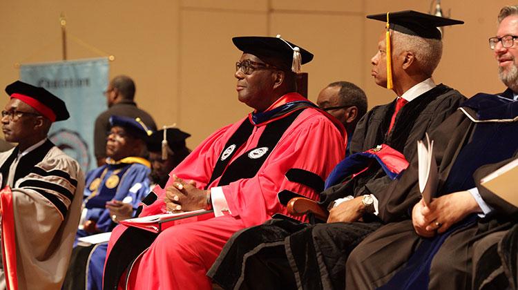 Clark Atlanta University Presidential Inauguration courtesy of Eleven16 Media.