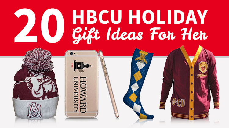 An HBCU Gift Guide for her to help you with your holiday shopping for the Black College supporter in your life.