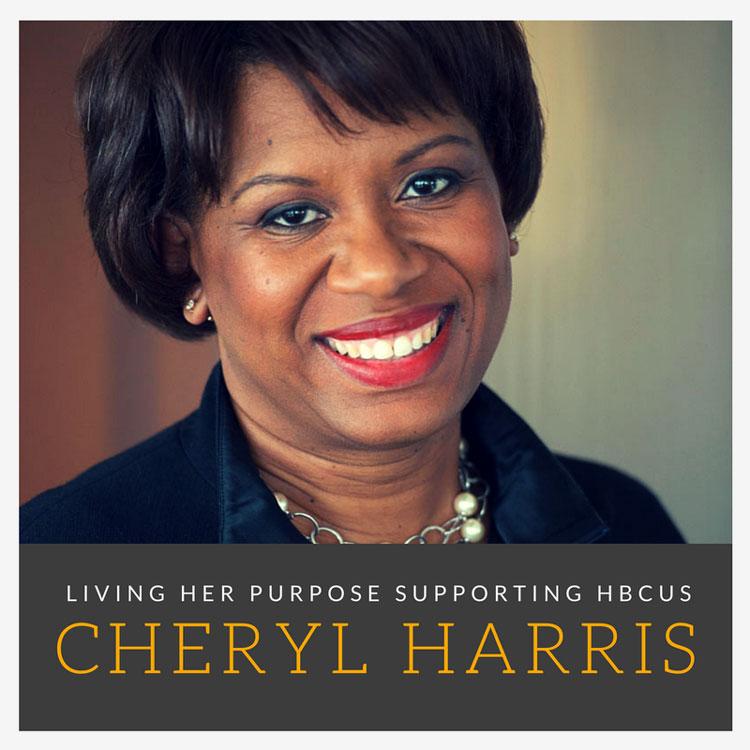 Cheryl Harris, an HBCU graduate (FAMU) and Senior VP at Allstate