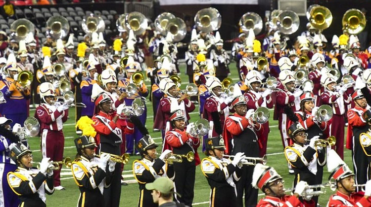 Eight HBCU marching bands perform in the Honda Battle of the Bands 2017 Invitational Showcase.