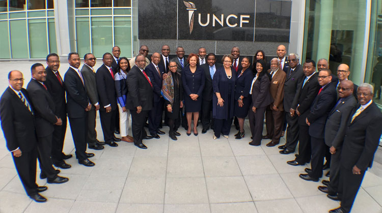 UNCF-member #HBCU presidents are in DC for White House & Congressional meetings to highlight the value of HBCUs.