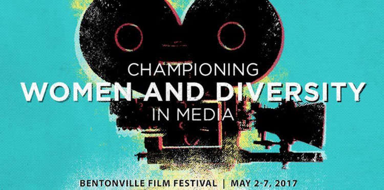 Bentonville Film Festival Official Event Poster, May 2-7, 2017.