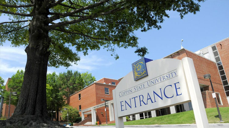 Copping State University entrance
