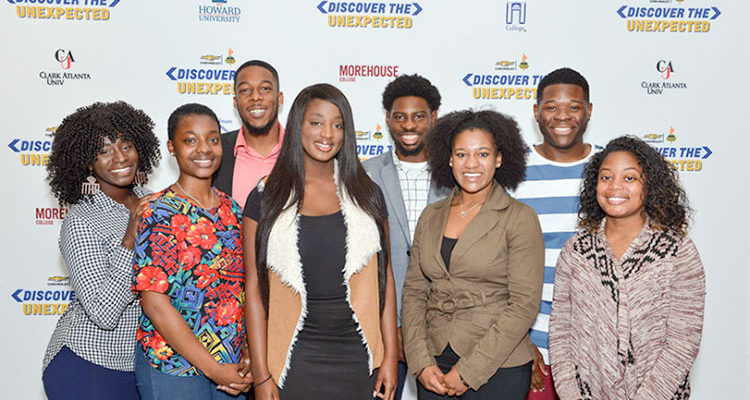 2017 HBCU NNPA/Discover the Unexpected Fellows.