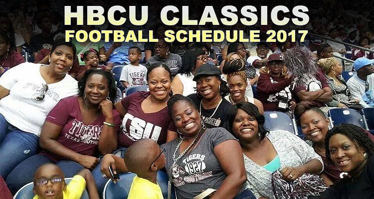 HBCU Classics Football Schedule 2017