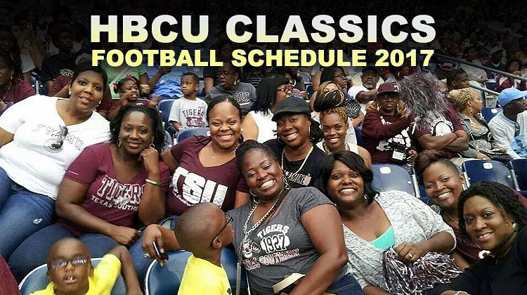 Texas Southern University alumni pose for a group photo during the annual Labor Day Classic football game.