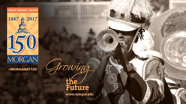 Morgan State University celebrates 150 years of Purpose, Progress, and Promise.