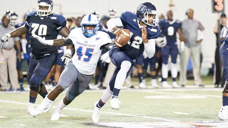 Tennessee State beats JacksonState in Southern Heritage Classic