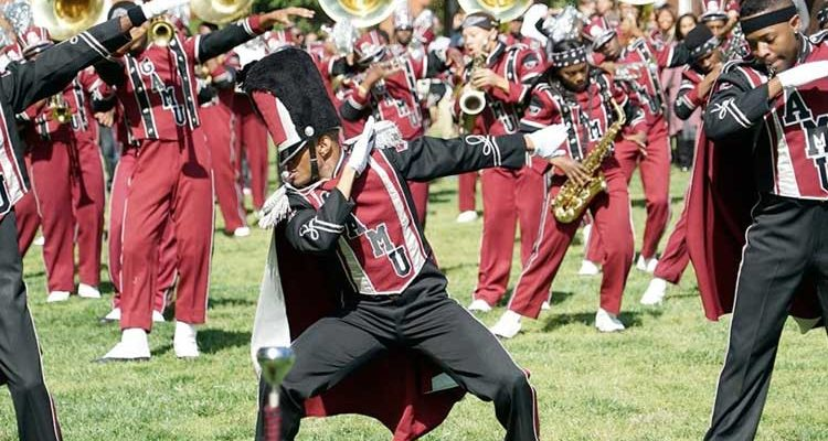 The Quad Marching Band