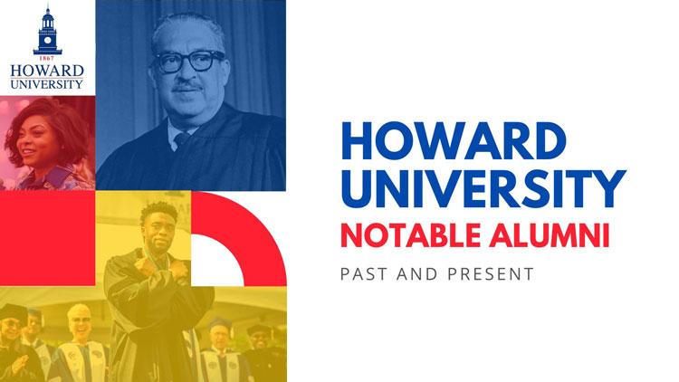 Howard Univrsity Notable Alumni