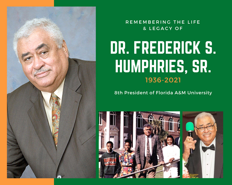 Former FAMU President Frederick S. Humphries Passes Away At 85