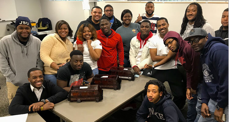 Mississippi HBCU STEM students pose for a group photo.