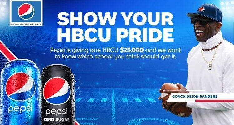 Pepsi, Coach Prime, and Terrence J, Call on Students and Alumni to Level Up Their School Pride This Fall with a Vote for Their School