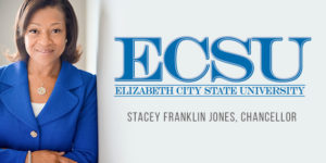 Stacey Franklin Jones Elected Chancellor of ECSU